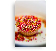 Baking Cupcakes Canvas Print