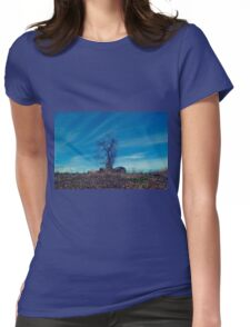 Lonely Forest Womens Fitted T-Shirt