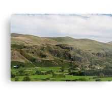 Country Scene near Keswick Metal Print