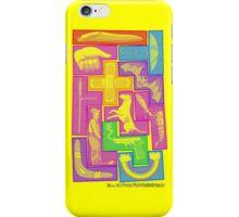 All 12 Free Pentominoes iPhone Case/Skin