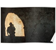 Shadowy Figure Poster
