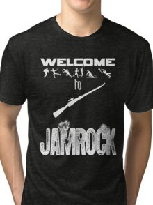 Welcome to JAMROCK Tri-blend T-Shirt