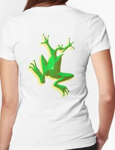 FROG, GREEN FROG, Jumping Jehoshaphat! Help! its the Green frog! Pond life T-Shirt