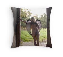 Barn Angel No.6 Throw Pillow