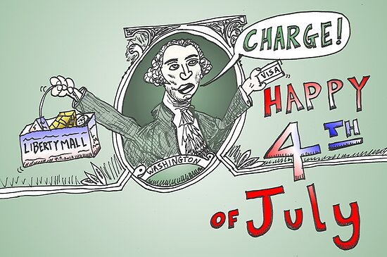 GW Charge of Liberty on the 4th of July by Binary-Options