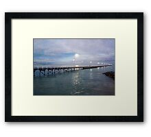 By the light of the Moon...... Framed Print