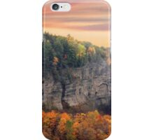 Taughannock Sunset iPhone Case/Skin