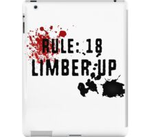 LIMBER UP iPad Case/Skin