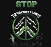 Stop the violence against by Amalia Iuliana Chitulescu