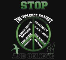 Stop the violence against by Amalia Iuliana Chitulescu
