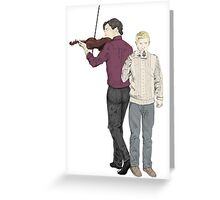 Baker St Besties Greeting Card