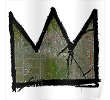"""Basquiat """"King of Hollywood"""" Poster"""