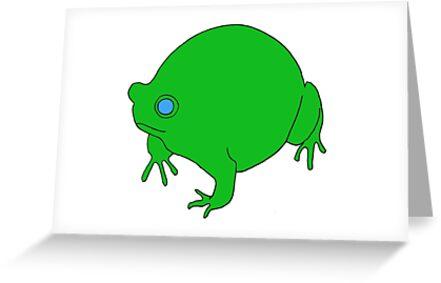 Fat Frog by Hannah Baker - Jamface
