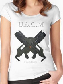 UNITED STATES COLONIAL MARINES Women's Fitted Scoop T-Shirt