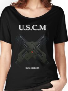 UNITED STATES COLONIAL MARINES Women's Relaxed Fit T-Shirt