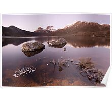 Cradle Mountain Winter Dawn Poster