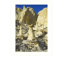 The Rimrocks, Utah Art Print