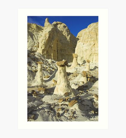 The Rimrocks, Utah Art Print
