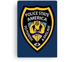 Police State America Canvas Print