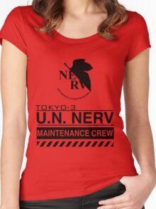 TOKYO-3 NERV  Women's Fitted Scoop T-Shirt