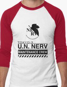 TOKYO-3 NERV  Men's Baseball ¾ T-Shirt