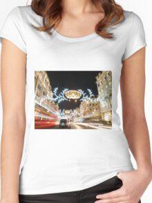 Regent Street London Women's Fitted Scoop T-Shirt