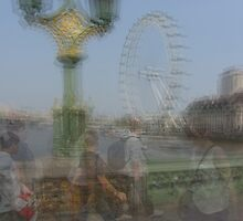 London Eye, Millenium Wheel by KUJO-Photo