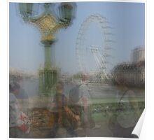 London Eye, Millenium Wheel Poster
