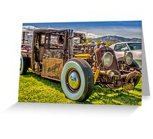 HillBilly Chevy Greeting Card