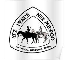 Nez Perce Trail Sign, USA Poster