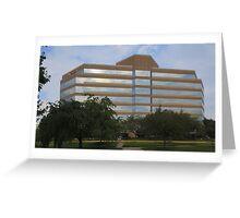Office Building, Fairfax VA Greeting Card
