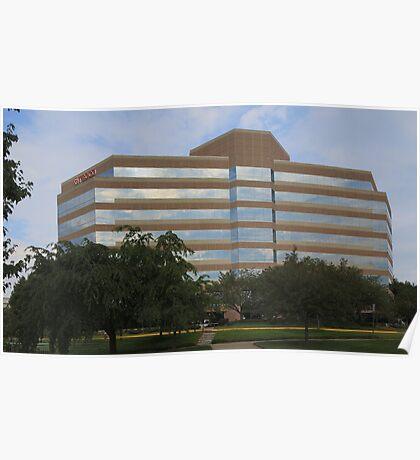 Office Building, Fairfax VA Poster