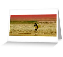 A Surfing I Will Go Greeting Card