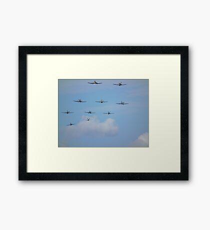 Balbo Over Duxford Framed Print