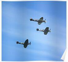 Spitfire Trio Poster