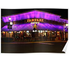 Fanfare Eatery - Fairfax Corner Center, Fairfax Virginia Poster