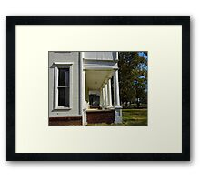 The John Deere House Framed Print