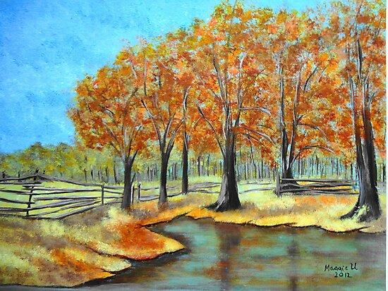 Autumn Landscape 3 by maggie326