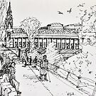 Princes Street Gardens by Peter Lusby Taylor