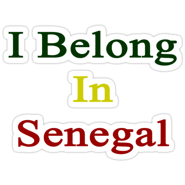 I Belong In Senegal by supernova23