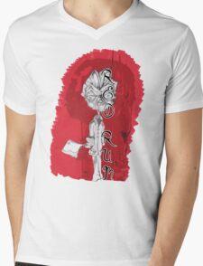 red rum Mens V-Neck T-Shirt