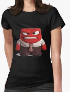 INSIDE OUT - Anger 02 Womens Fitted T-Shirt