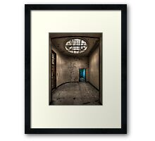 The Blue Room Framed Print