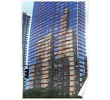 Skyscraper Reflections Poster
