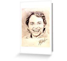 John Ritter Greeting Card