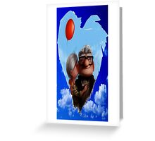 Carl Fredricksen and Ellie Greeting Card