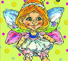 butterfly fairy by Renata Lombard