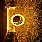Wire Wool Spin iPhone Case by Adam Kennedy