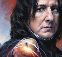 Snape, Defense Against The Dark Arts by Cynthia Blair