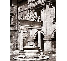 The Well. Photographic Print